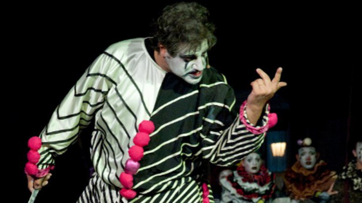 Zkouška opery Komedianti