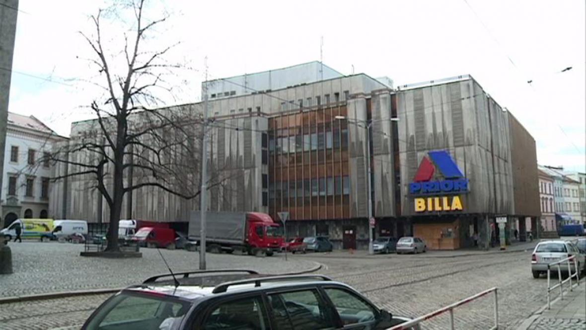 Obchodní dům Prior - Olomouc