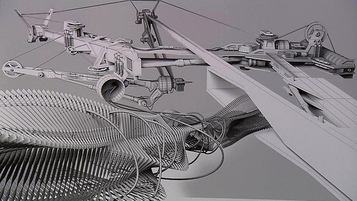 Práce ze soutěže Grafika roku 2011