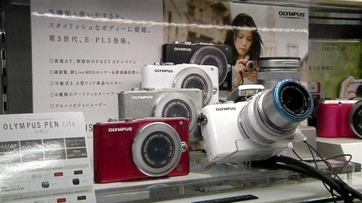 Fotoaparáty Olympus