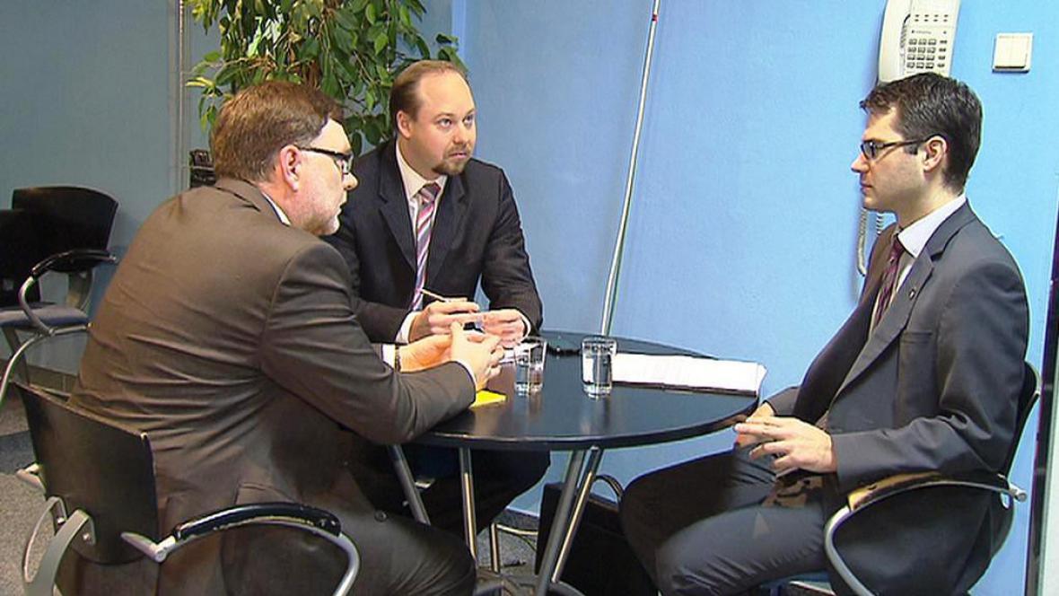 Zbyněk Stanjura, Jeroným Tejc a Stanislav Polčák