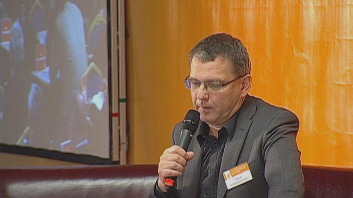 Lubomír Zaorálek na programové konferenci ČSSD