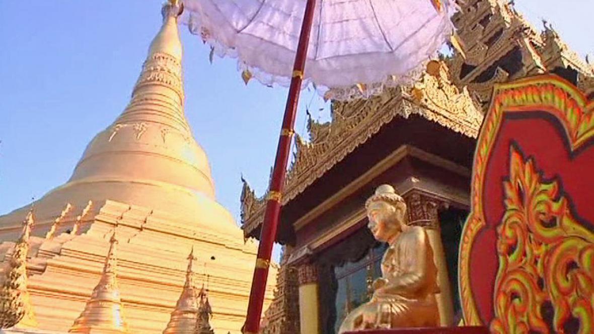 Festival u Šweitigoumské pagody