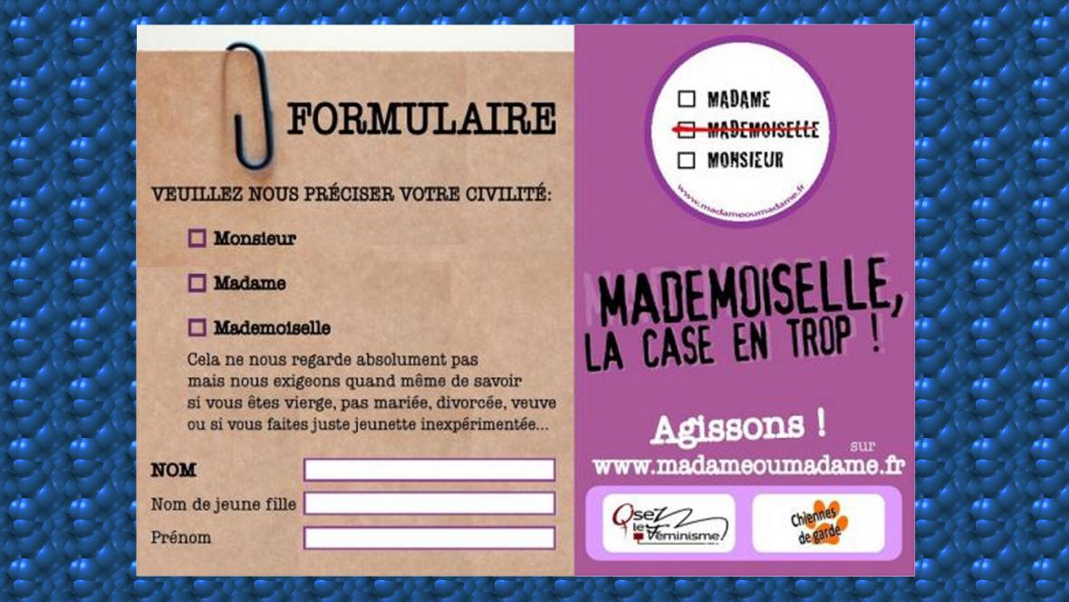 Z francouzských formulářů mizí označení