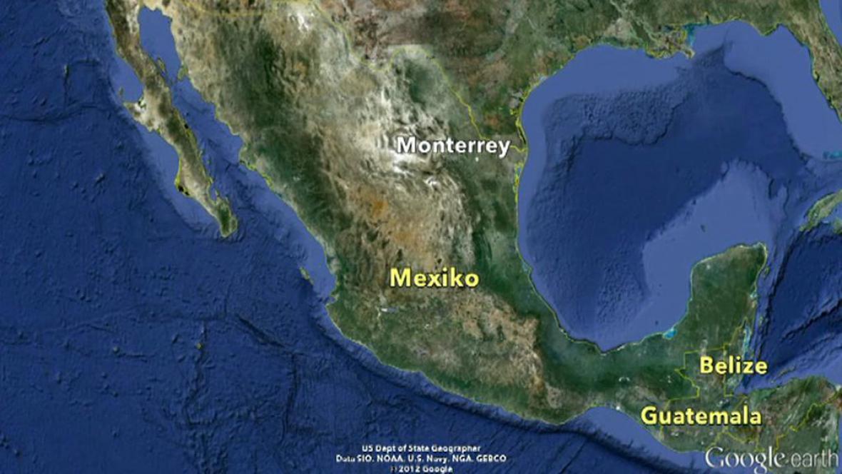 Mapa Mexika