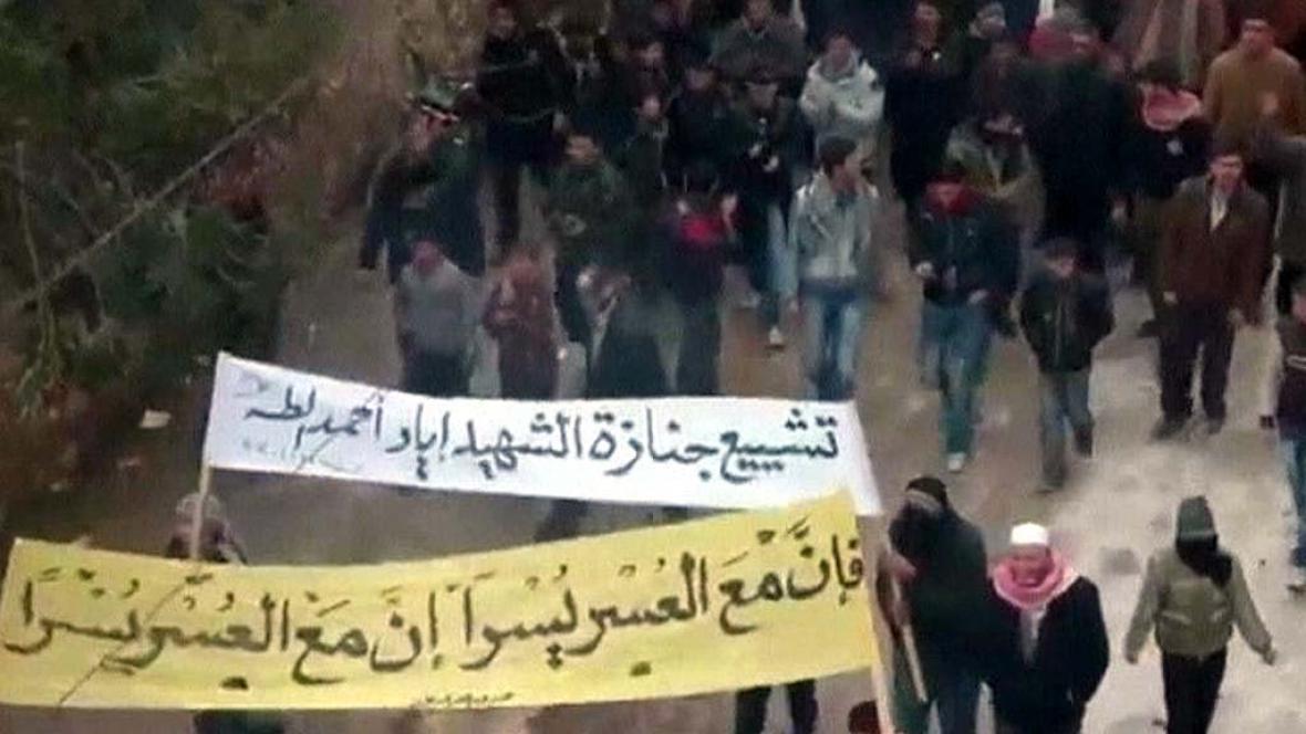 Nepokoje v Sýrii