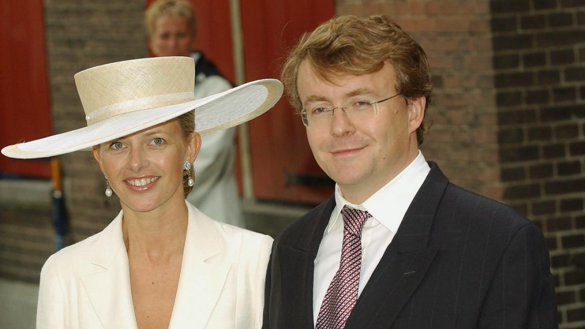 Nizozemský princ Johan Friso s manželkou Mabel