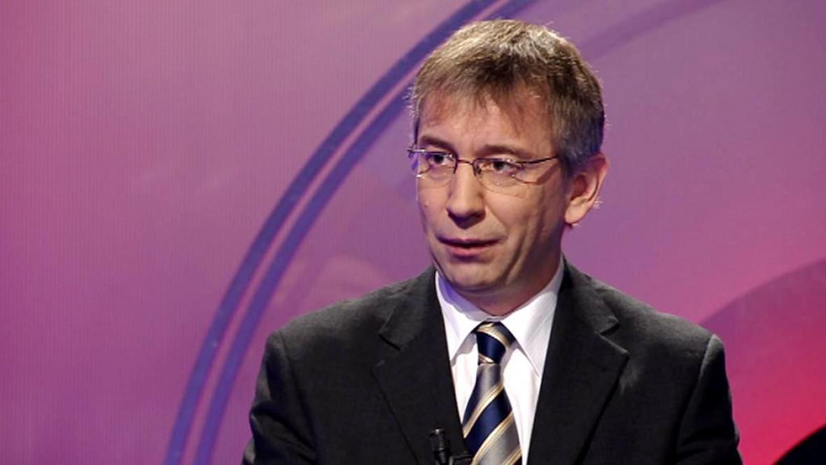 Ministr práce a sociálních věcí Jaromír Drábek (TOP 09)