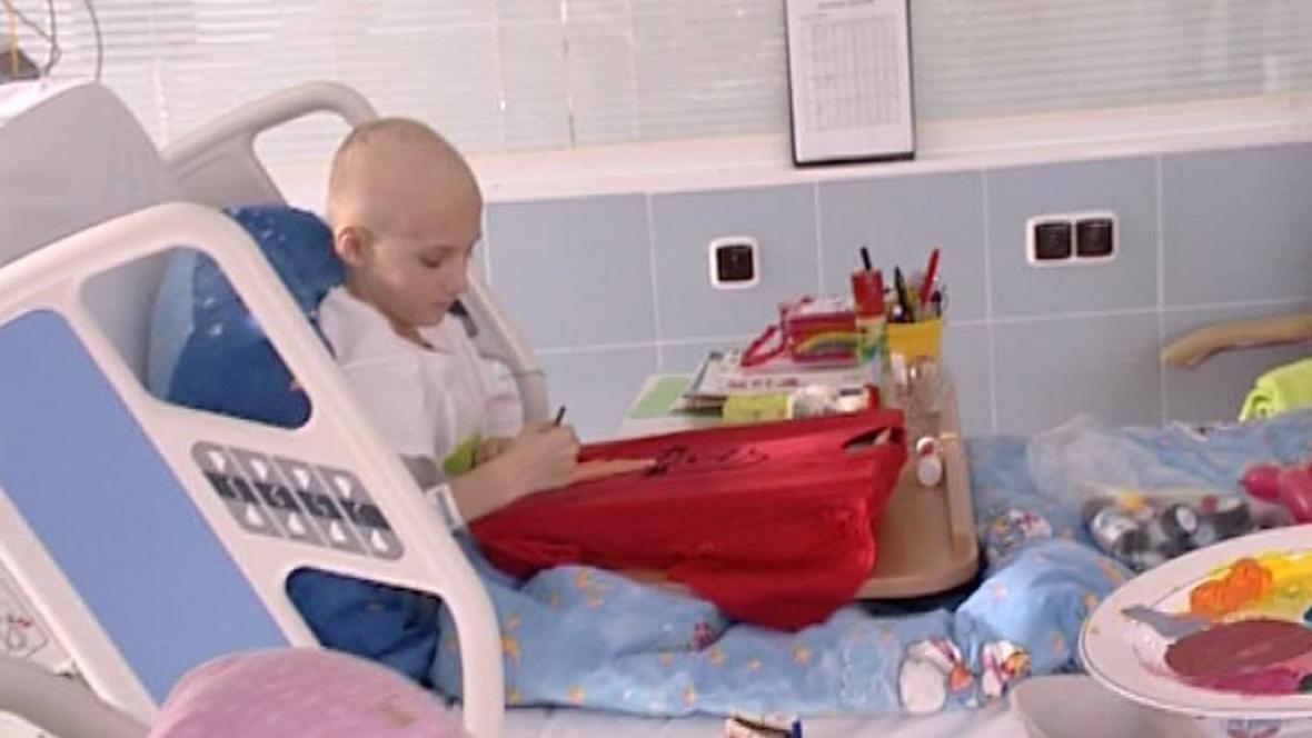 Dětský onkologický pacient