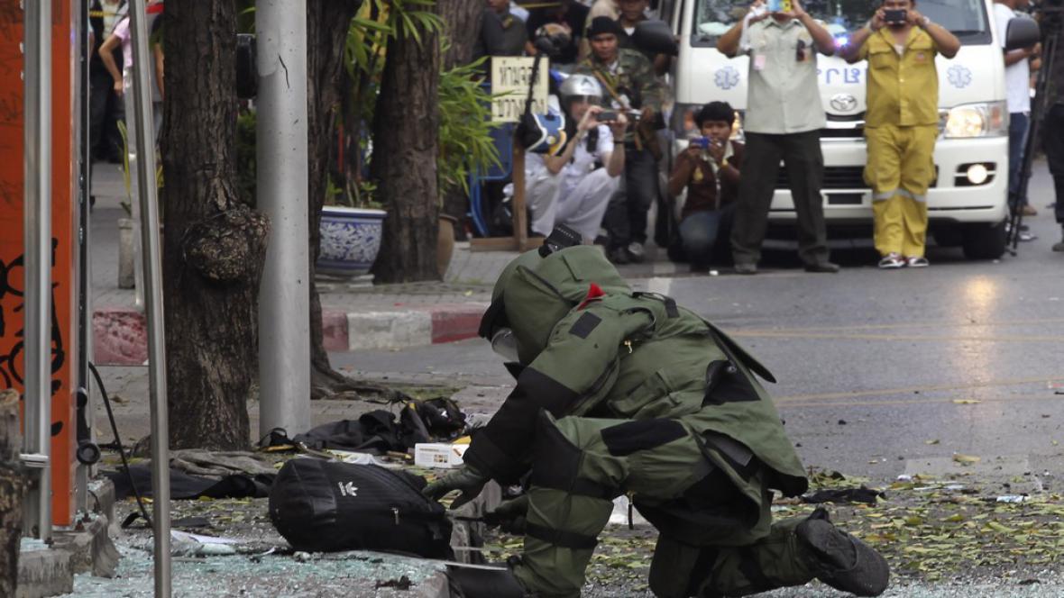 Násilí v Bankoku