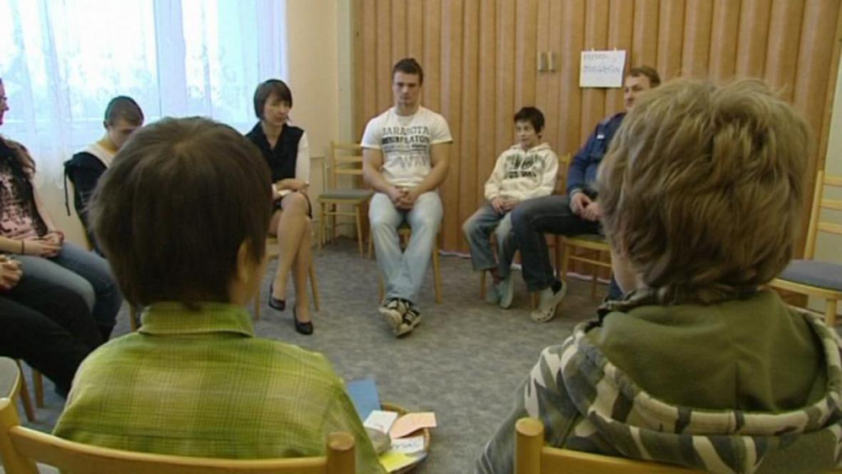 Žáci se účastní kolektivních rozhovorů
