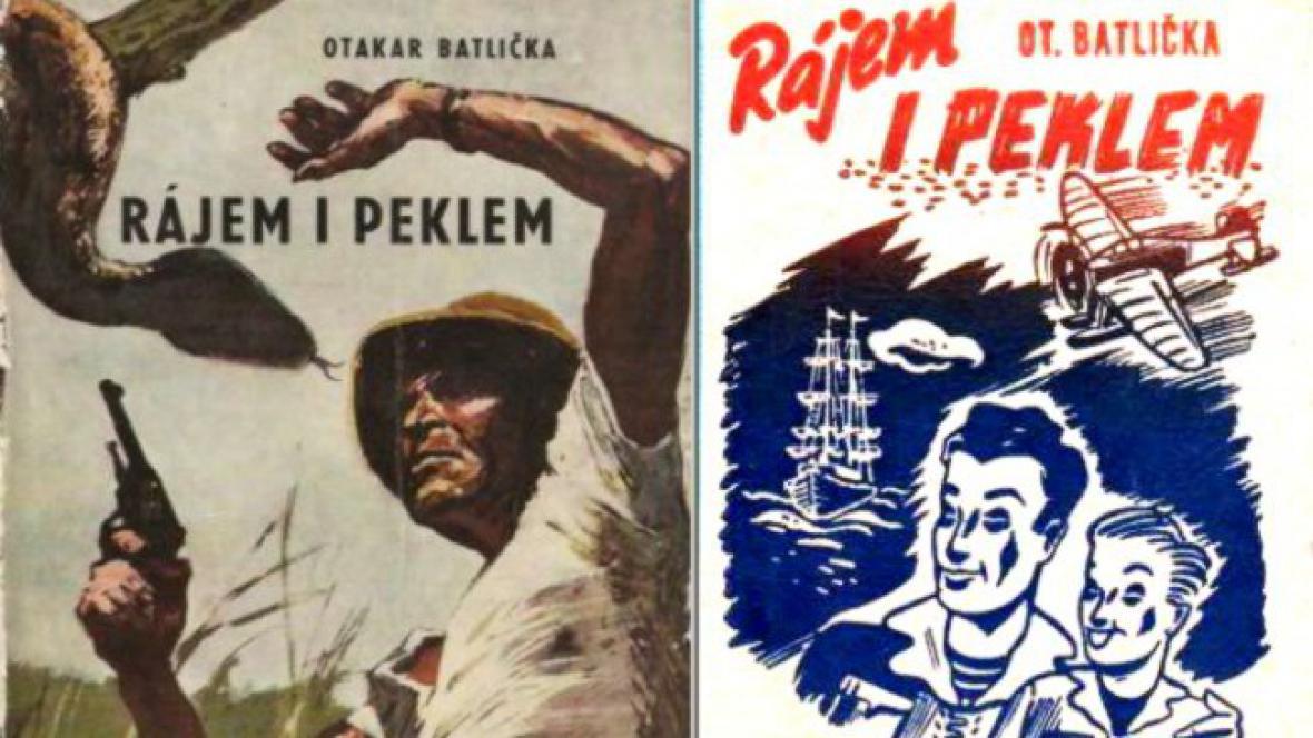 Otakar Batlička / přebaly knih