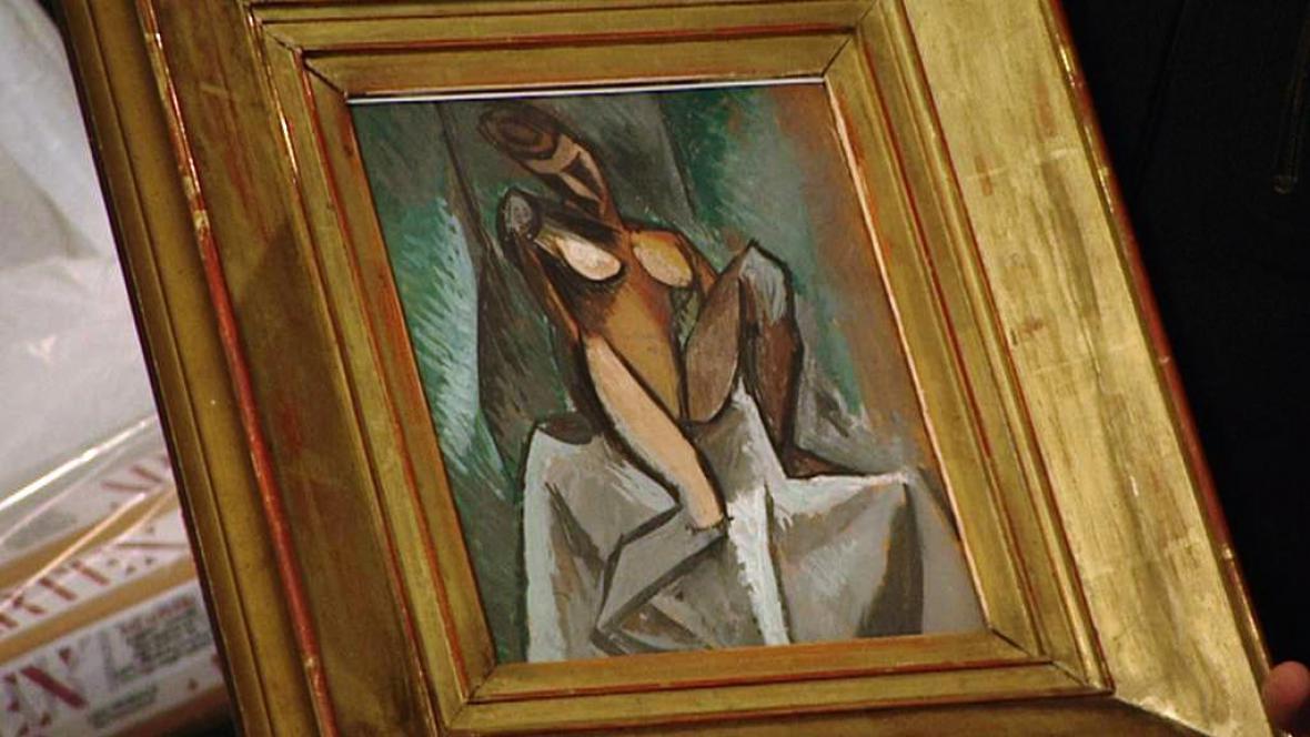 Picasso: Sedící žena