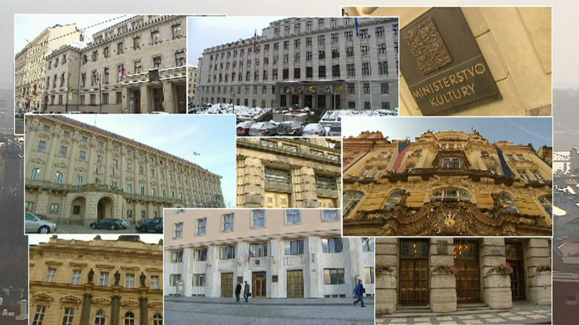 V Praze se nachází až 100 ministerských budov