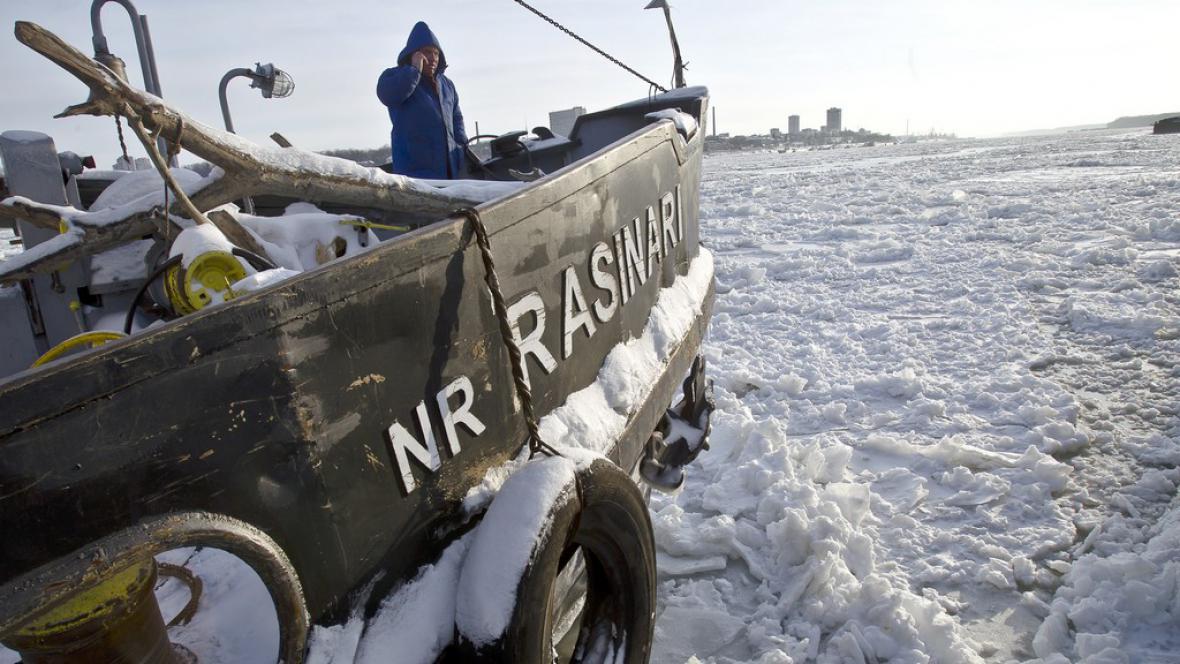 Mrazy v Rumunsku