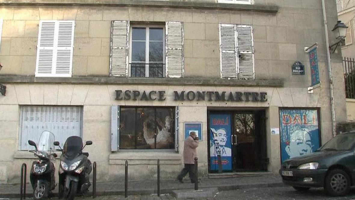Pařížská galerie Espace