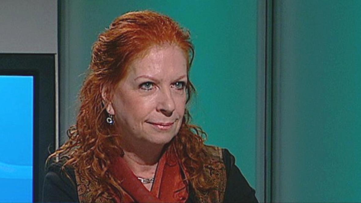 Spisovatelka Lenka Procházková