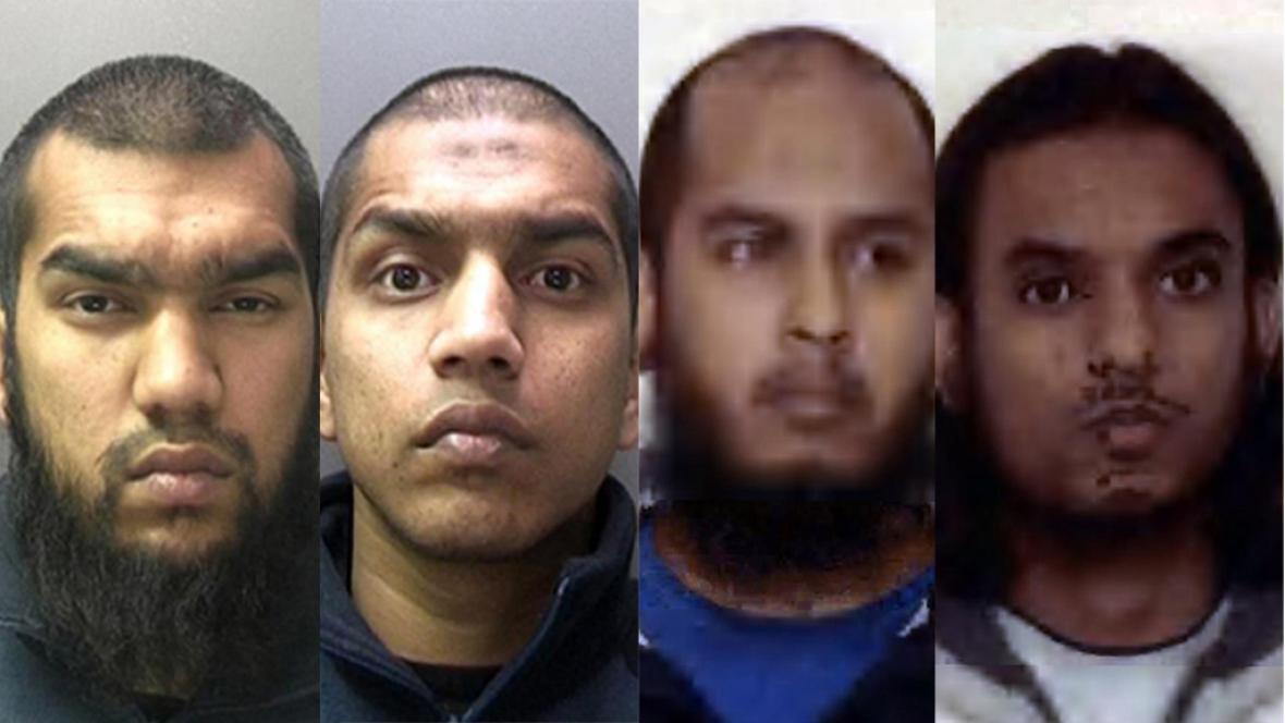 Muži, kteří plánovali teroristické útoky