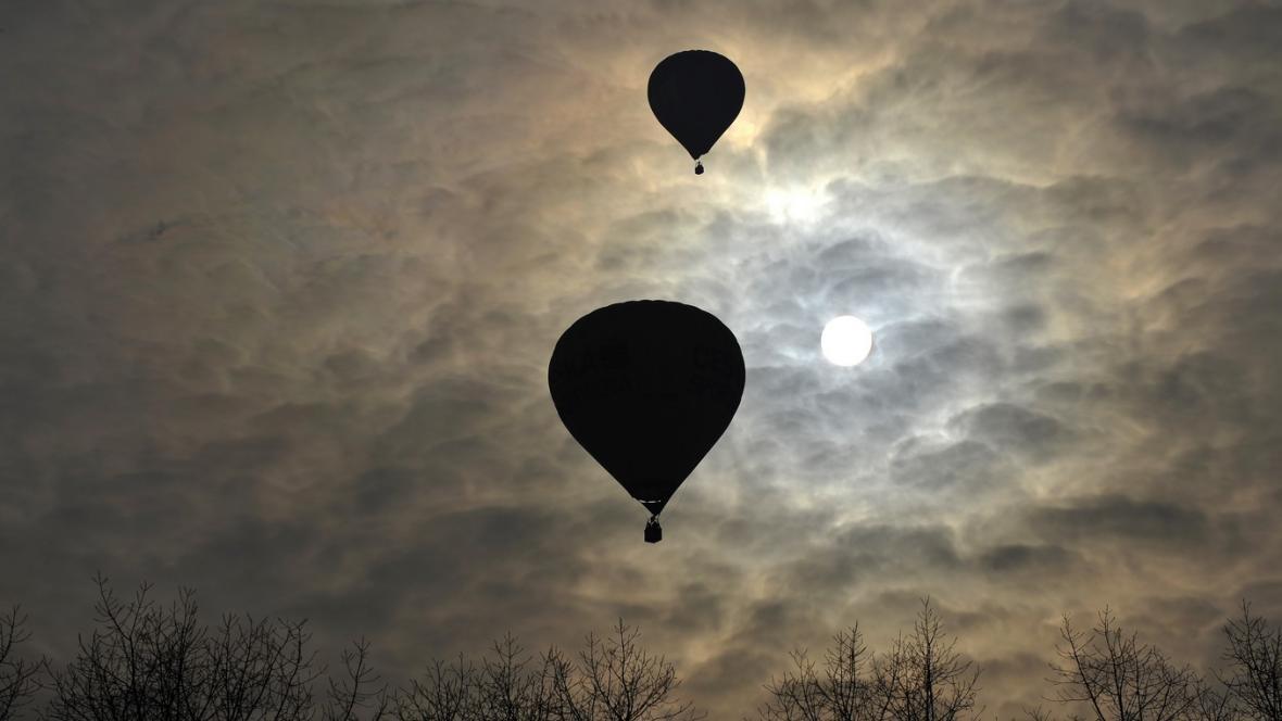 Balonové Ještědění