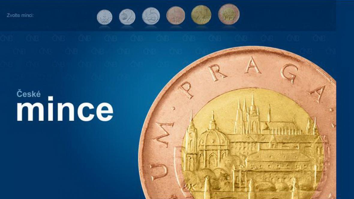 Aplikace České mince