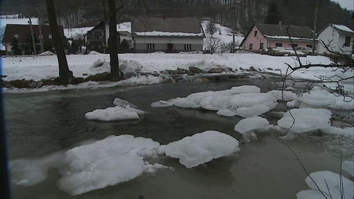 Hrozba záplav na Moravě