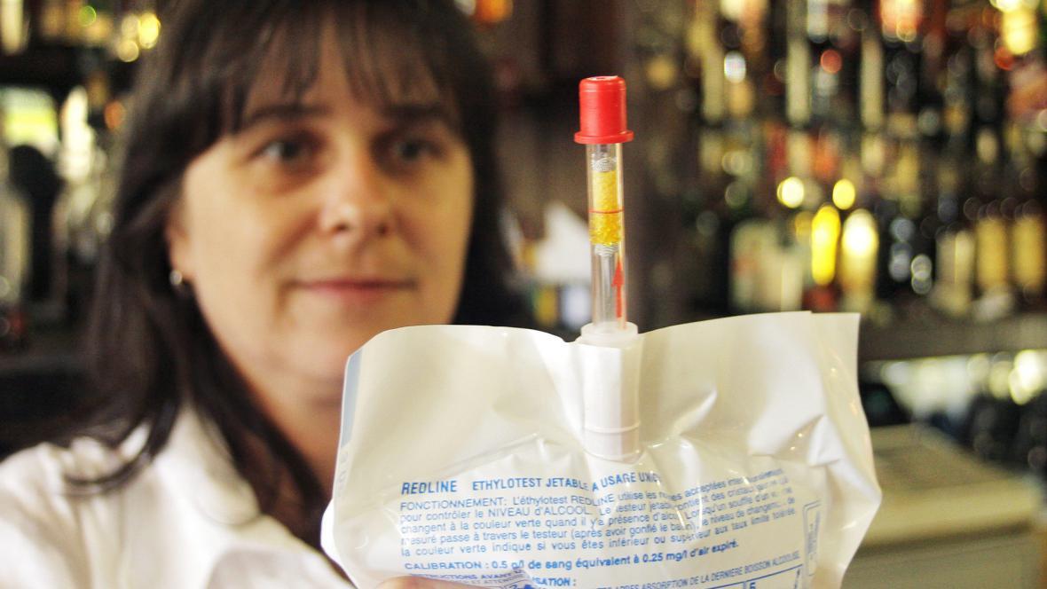 Jednorázový test na alkohol