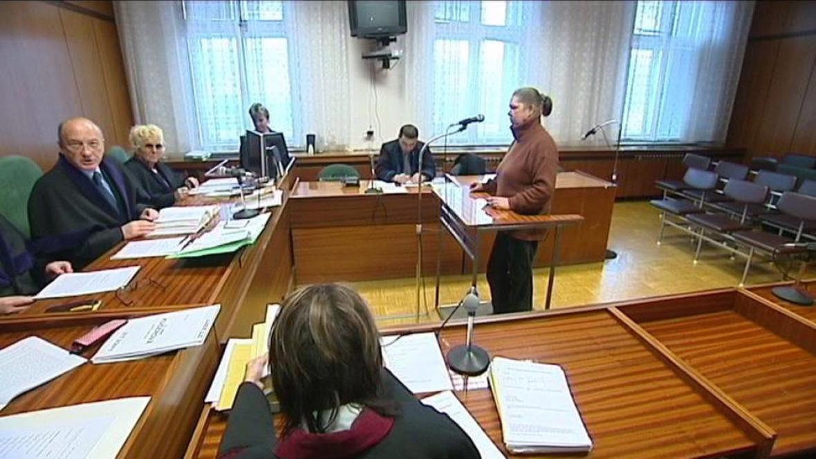 obžalovaná Jana Kučerová