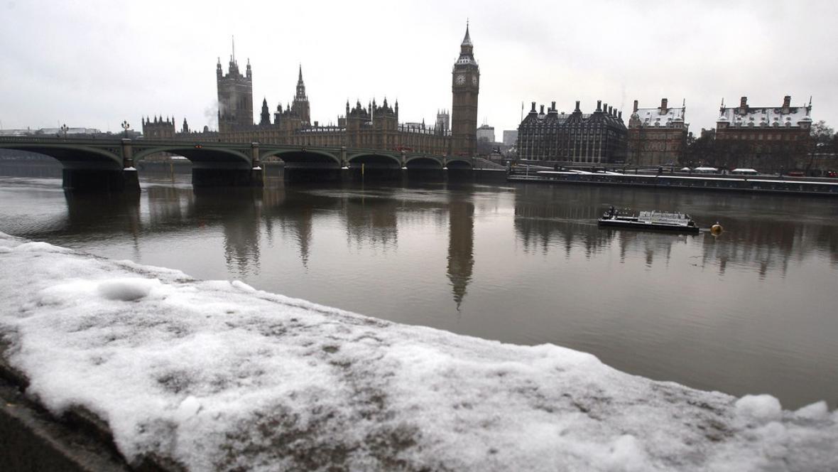 Mrazy v Londýně