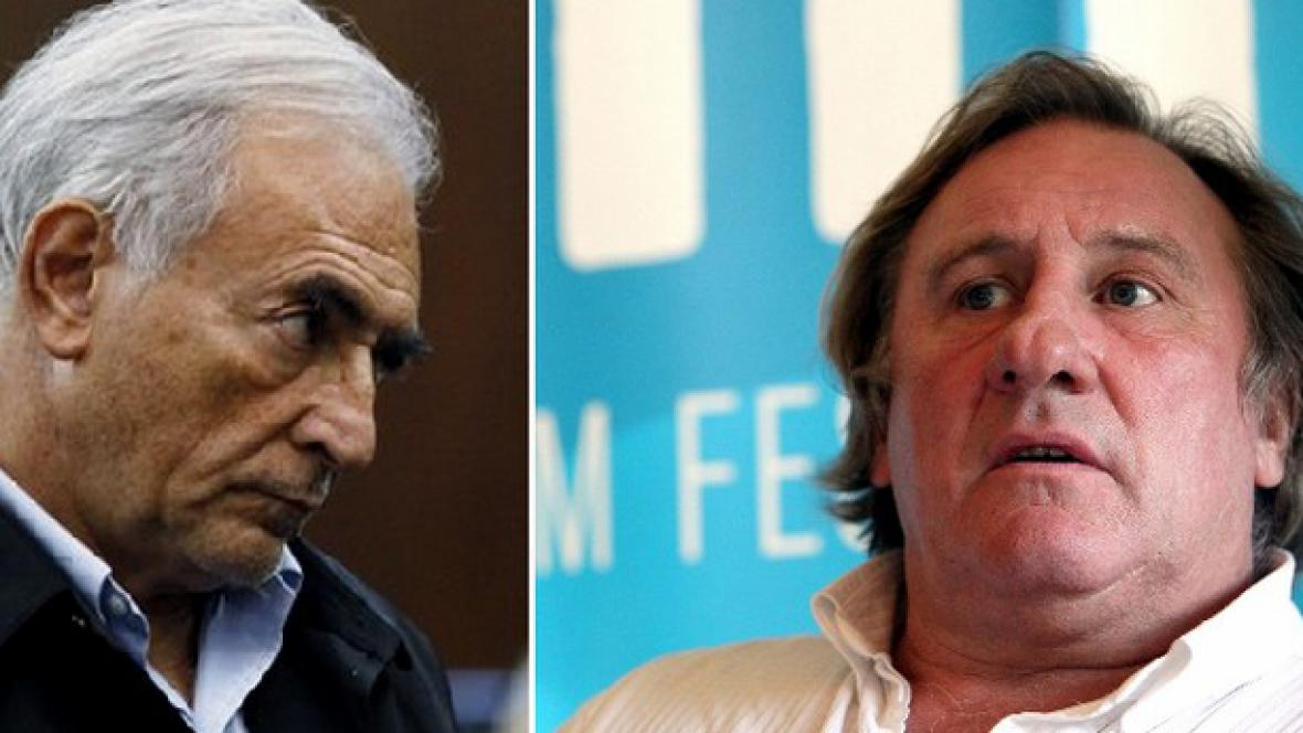 Dominique Strauss-Kahn a Gérard Depardieu