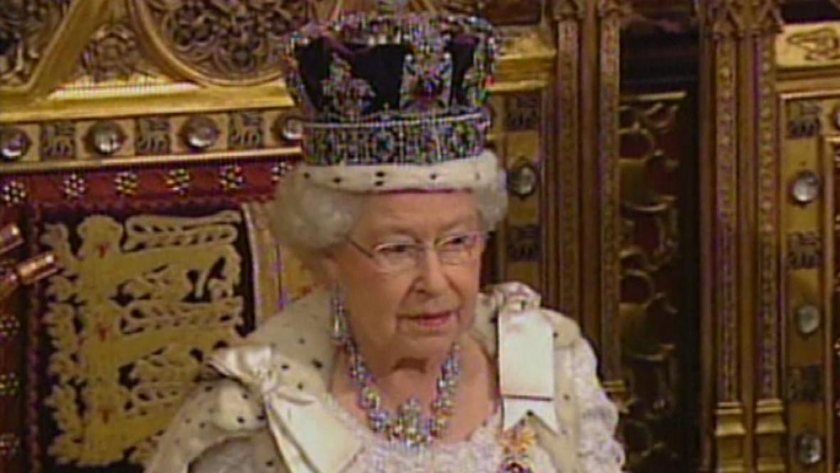Britská královna Alžběta II.