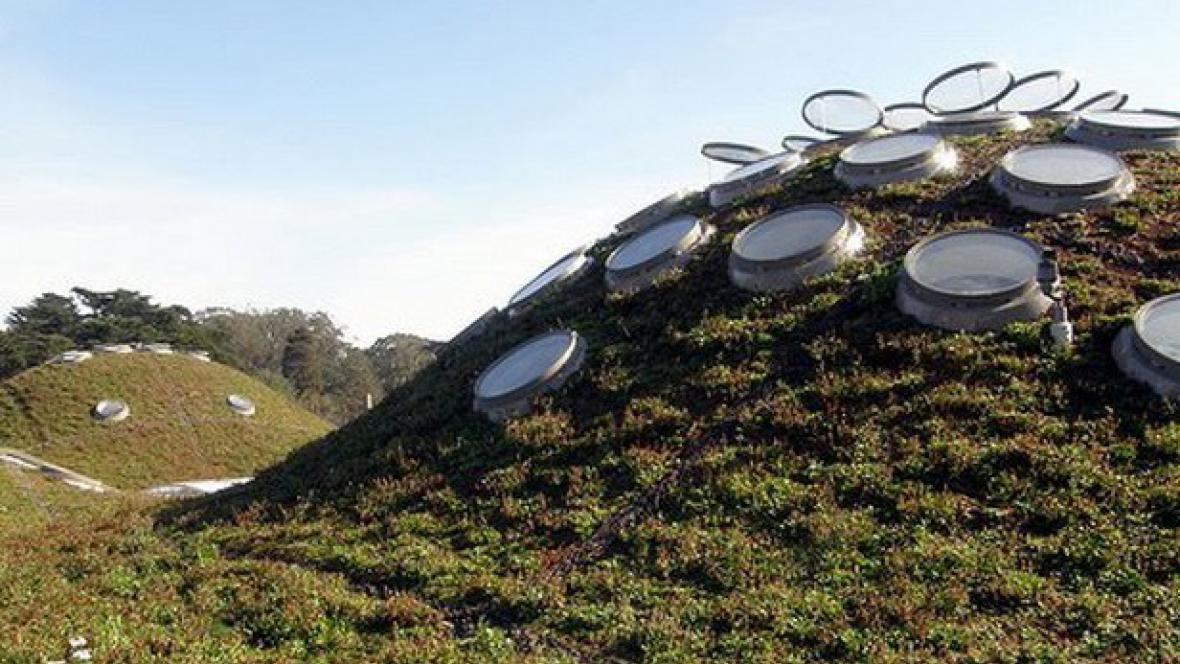 Kalifornská akademie věd - architekt Renzo Piano