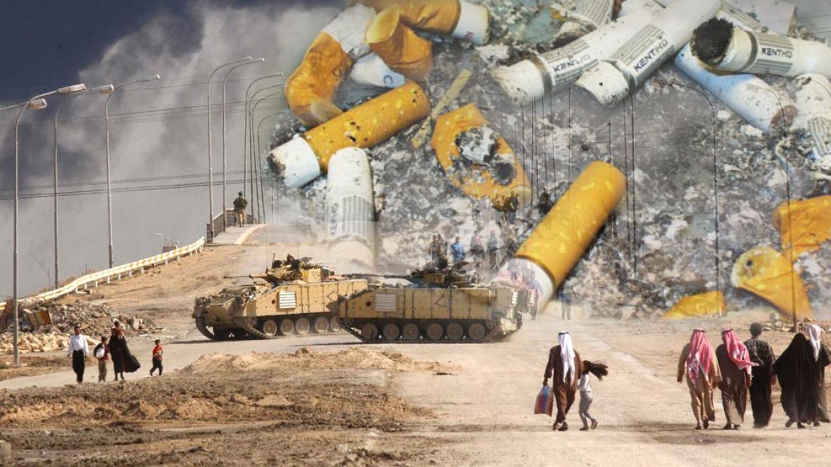 Irácký parlament schválil zákaz kouření ve veřejných prostorách