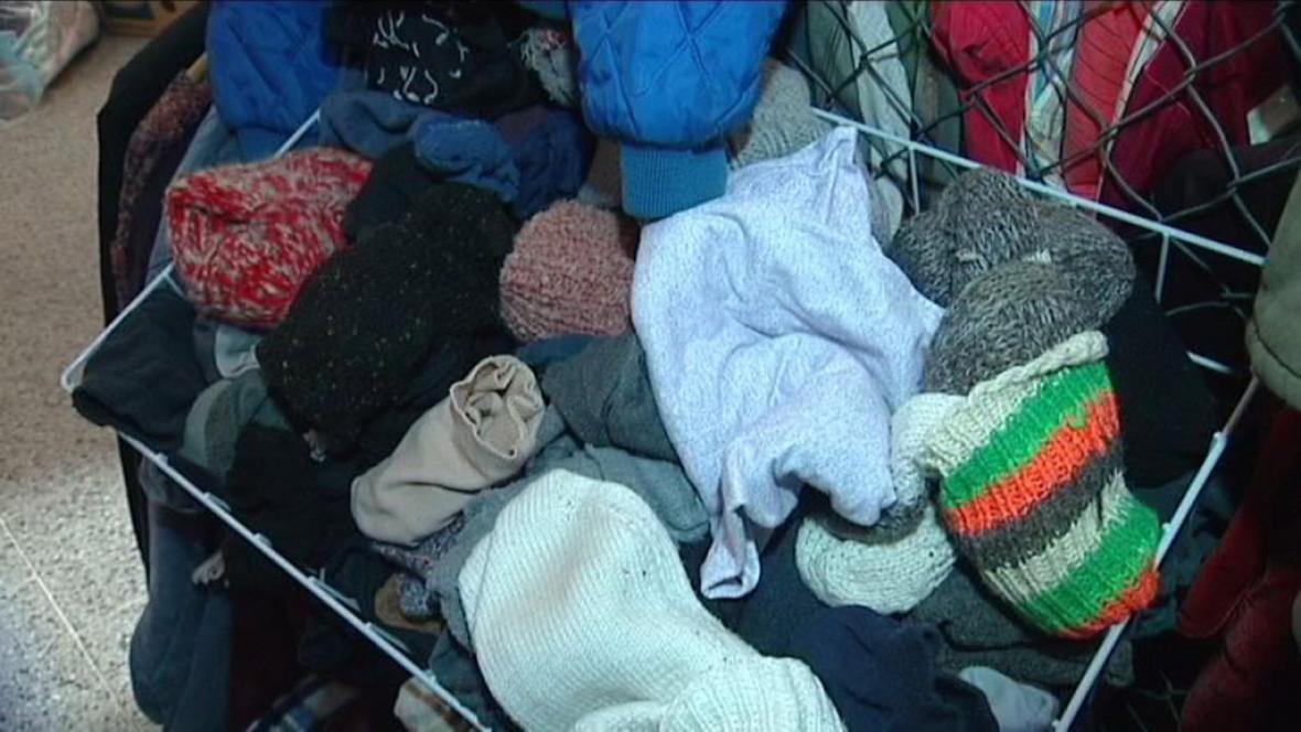 Chybí zimní oblečení