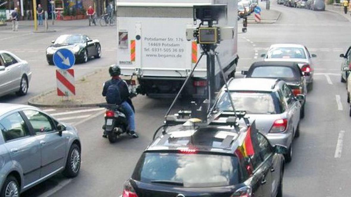 Snímkovací vůz Google