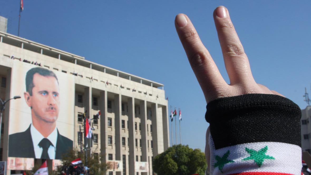 Asadovi příznivci