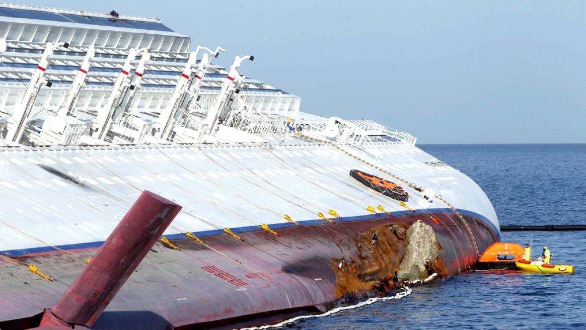Ztroskotaná Concordia