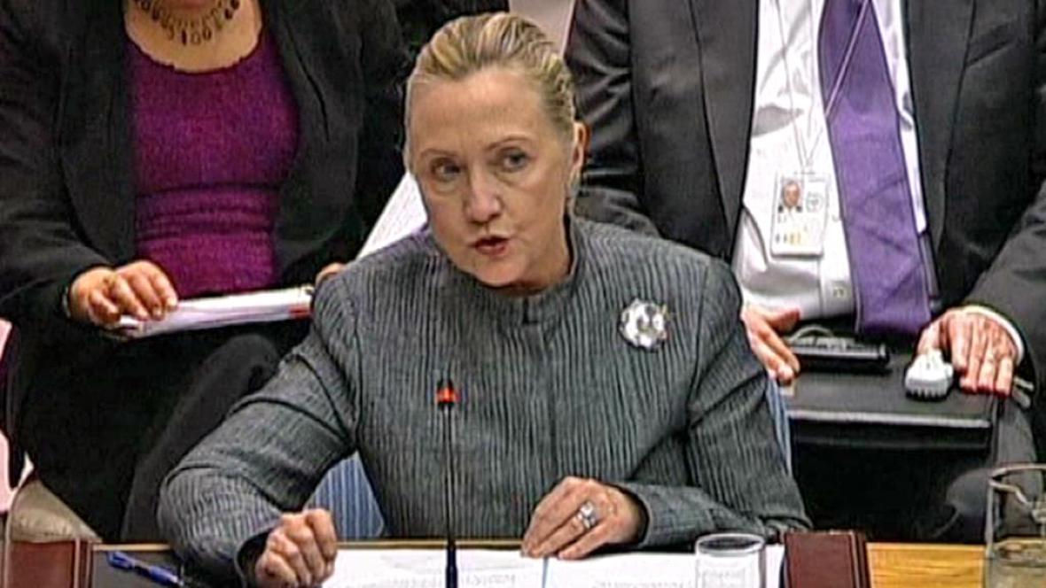 Hillary Clintonová v OSN