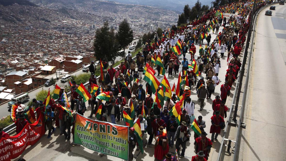 Protestní pochod
