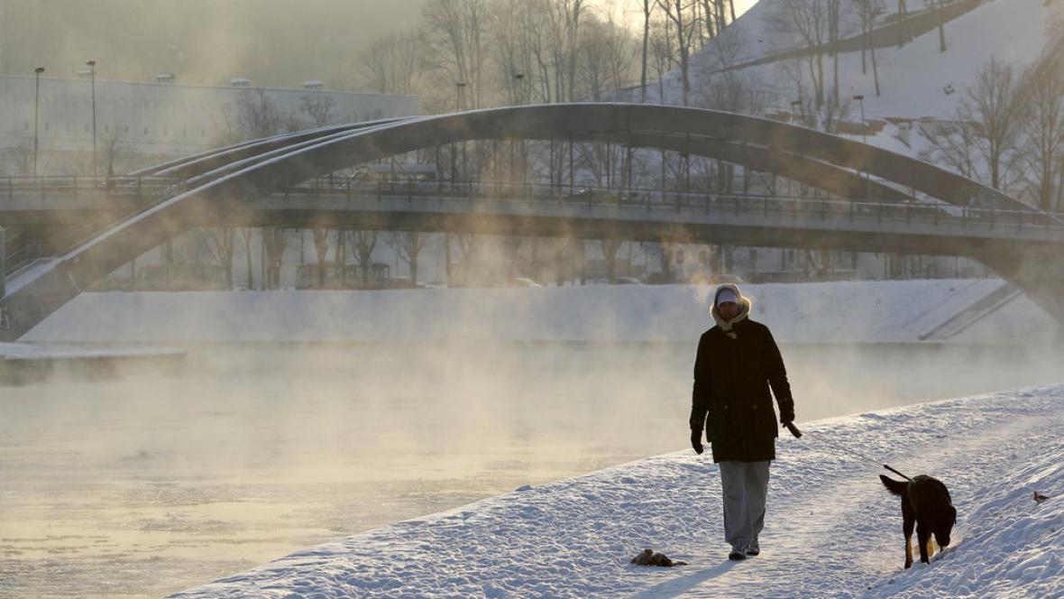 Mrazy v Litvě