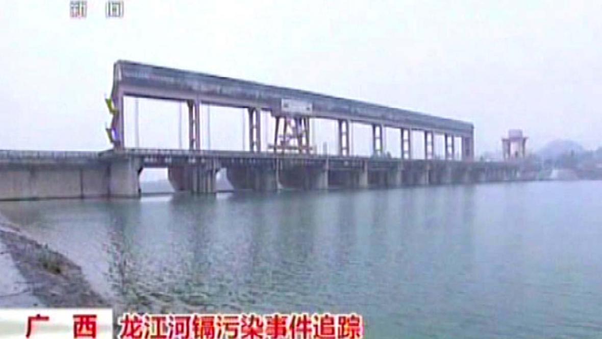 Řeka Lung-ťiang