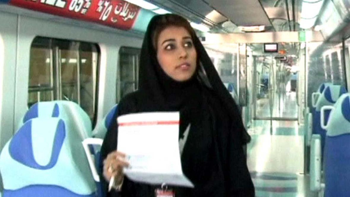 Miriam Al Safarová - řidička metra