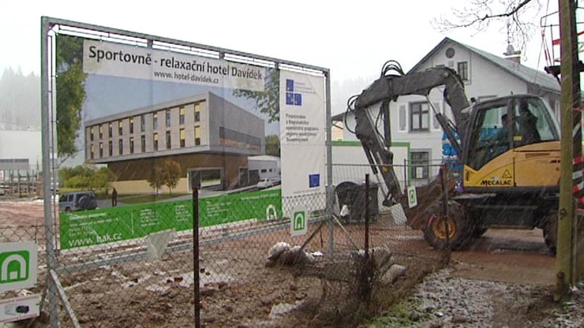 Zastavený projekt výstavby hotelu v Trutnově