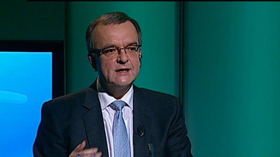 Ministr financí Miroslav Kalousek
