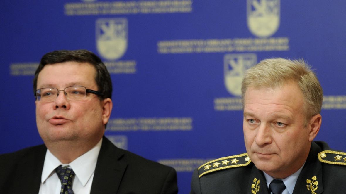Alexandr Vondra s Vlastimilem Pickem