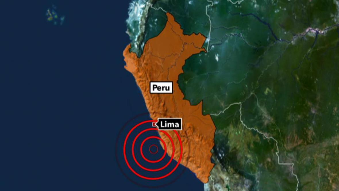 Zemětřesení v Peru