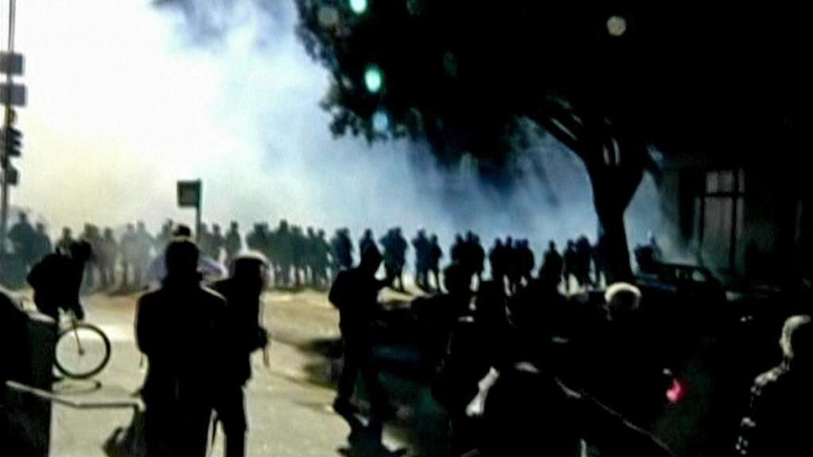 Protesty v Oaklandu
