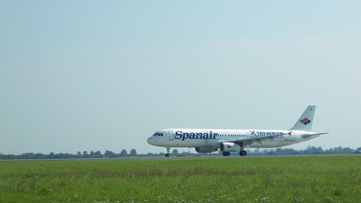 Letoun společnosti Spanair