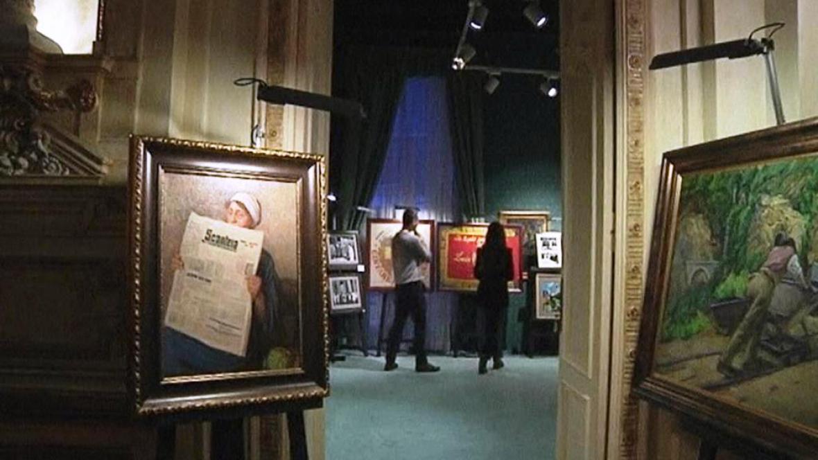 Prodej Ceaušeskových pozůstalostí
