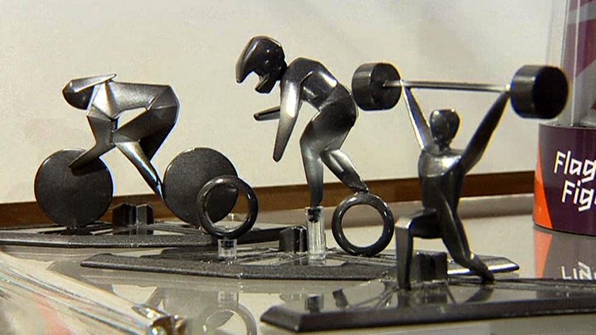 Lité figurky sportovců