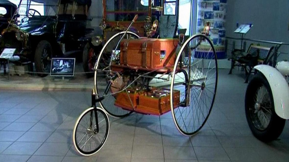 Muzeum sestrojilo model prastarého elektromobilu